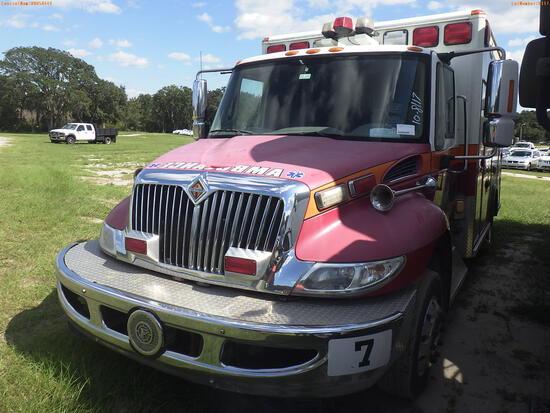 10-08117 (Trucks-Ambulance)  Seller:Private/Dealer 2009 INTL 4300