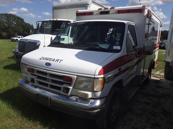 10-08115 (Trucks-Ambulance)  Seller:Private/Dealer 1996 FORD E350