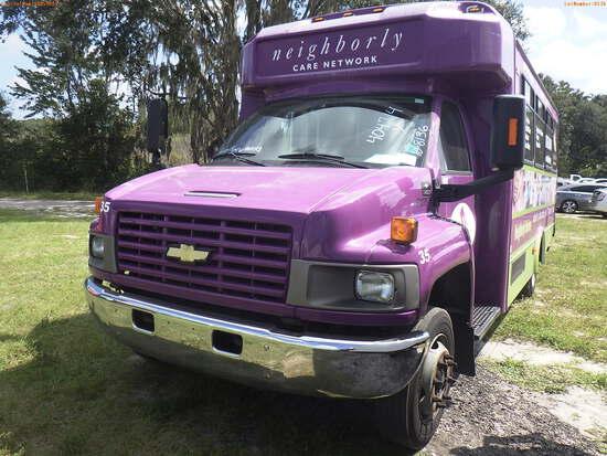 10-08136 (Trucks-Buses)  Seller: Gov-Neighborly Care Network Inc 2009 GLAV C4500