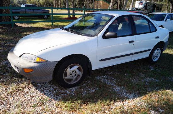 1997 Chevrolet Cavalier 4 Door Sedan