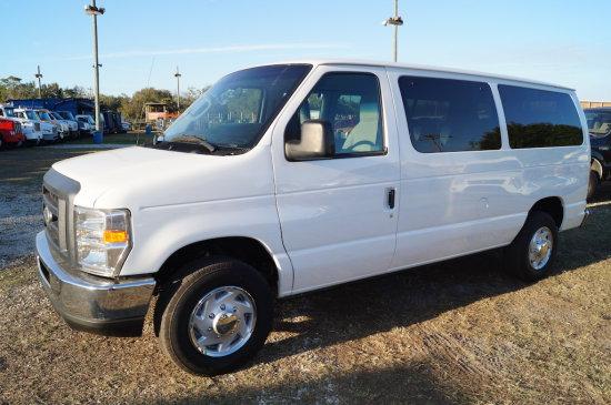 2011 Ford E Series 12 Passenger Cargo Van