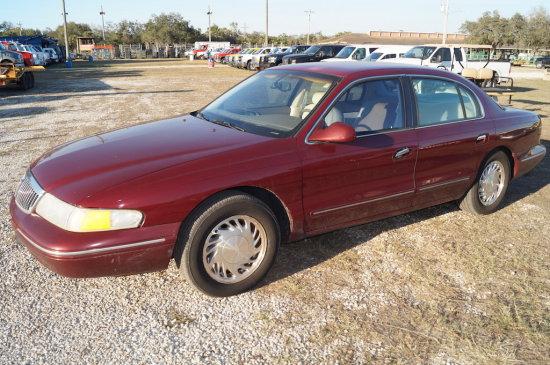 2000 Lincoln Continental 4 Door Sedan
