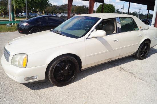 2003 Cadillac DeVille 4 Door Luxury Sedan