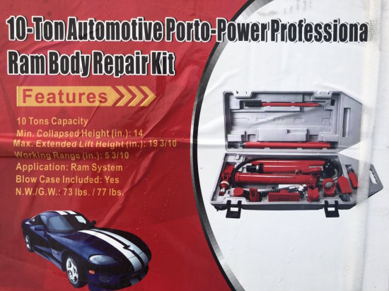 10 Ton Automotive Porto- Power