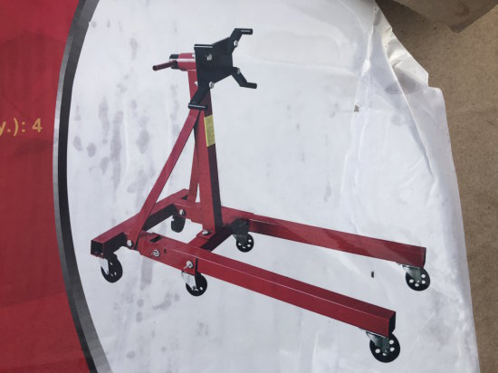 2,000lb Foldable Engine Stand