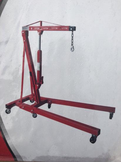 1 Ton Folding Shop Crane