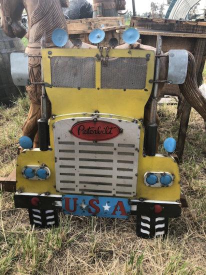 Wall Hanging Antique Peterbilt Truck Sign