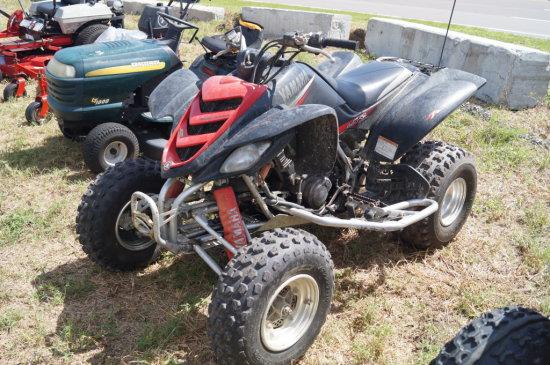 2002 Yamaha Raptor 660 660cc Sport 4 Wheeler