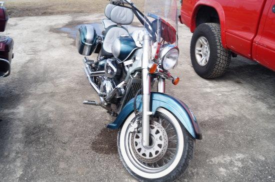 2003 Suzuki Volusia VL800 Motorcycle