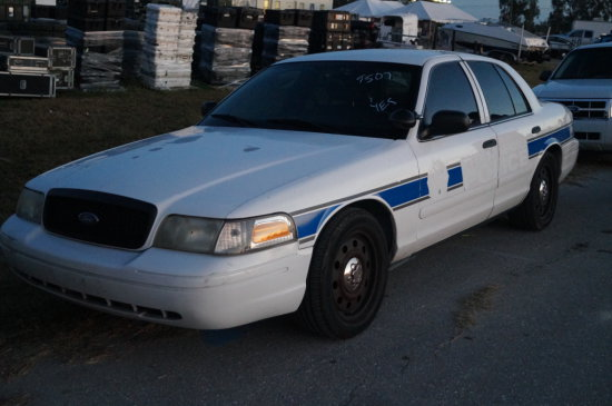 2008 Ford Crown Victoria Police Cruiser