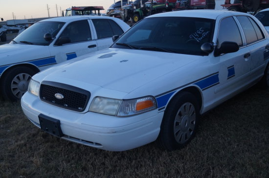 2007 Ford Crown Victoria Police Cruiser