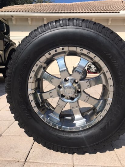 20in Custom Truck Wheels