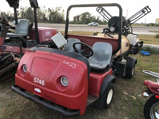 2006 Toro Workman 3300-D Gas Powered Sprayer Cart