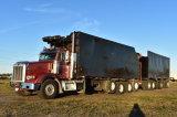 2004 Peterbilt 378 Quad Axle Debris Removal 2017 Grapple Truck and Quad Axle Debris Trailer