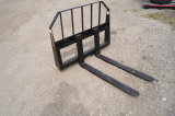 New 42in Skid Steer Fork Attachments 2800 lb Capacity