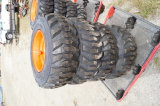 New Set of 4 Skid Steer Tires and Wheels 12in
