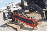 48in Hydraulic Skid Steer Trencher Attachment