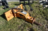 2011 D and A Silence 40V Skid Steer Hydraulic Breaker Attachment