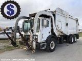 2007 Mack MR688S 28 Yd Front Loader Garbage Truck