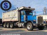 2009 Peterbilt 367 Tri Axle Dump Truck