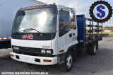 2004 GMC T5500 18ft Flatbed Truck