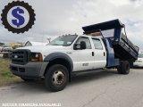 2006 Ford F450 Crew Cab Mason Dump Truck