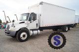 2013 International Durastar 27ft Box Truck