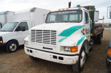 1991 International 20ft Flatbed Truck