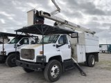 2005 GMC C7500 55 ft Forestry Bucket Chip Truck