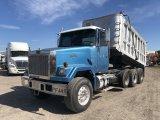 1994 Autocar WhiteGM Tri-Axle Dump Truck