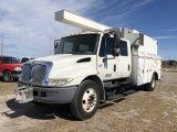 2007 International 4200 Creww Cab Enclosed Utility Truck