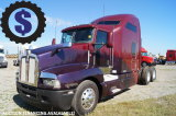 2007 Kenworth T600 T/A Sleeper Truck Tractor