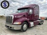 2011 Peterbilt 387 T/A Sleeper Truck Tractor