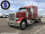 1997 Peterbilt 378 T/A Sleeper Truck Tractor (wetline)