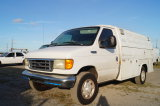 2004 Ford E-350 Super Duty Enclosed Utility Van