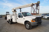 1999 Ford F550 32ft Bucket Truck