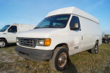 2003 Ford E-350 Enclosed Utility / Service Van
