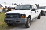 2006 Ford F250 XL Super Duty 4x4 Crew Cab Pickup Truck