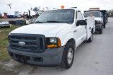2006 Ford F250 XL Super Duty Service Pickup Truck