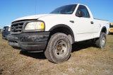 2001 Ford F150 XL 4x4 Pickup Truck