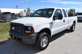 2006 Ford F-250 XL Super Duty 4x4 Extended Cab Pickup Truck
