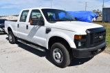 2010 Ford F-250 XL Super Duty 4x4 Crew Cab Pickup Truck