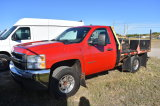 2008 Chevrolet 2500HD Flatbed Gas/CNG Pickup Truck