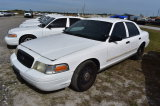 2009 Ford Crown Victoria 4 Door Police Cruiser