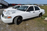 2007 Ford Crown Victoria 4 Door Police Cruiser