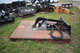 Quick Attach 72in Skid Steer Bush Hog Attachment