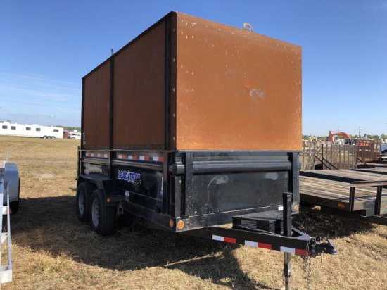 2016 Load Trail 14ft Dump Trailer