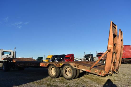 Wallace Step Deck Equipment Trailer