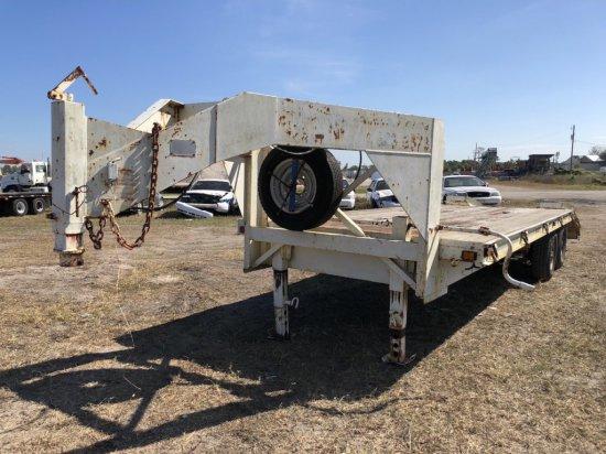 1997 Belshe T4-2EGN 12,000 lbs Gooseneck Trailer,