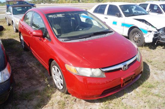 2007 Honda Civic 4 Door Sedan